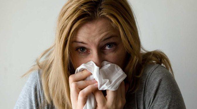 Matcha Tee trinken gegen Erkältung